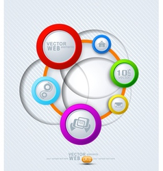 elements for web design vector image vector image