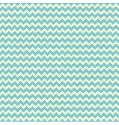 Seamless chevron pattern on linen turquoise canvas vector image vector image