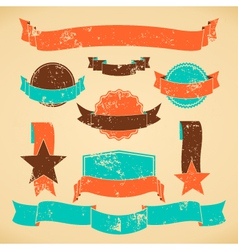 badges and banners collection vector image vector image