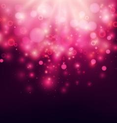 Purple Abstract Backdrop Bokeh Background vector image
