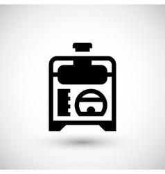 Electric generator icon vector image vector image