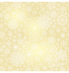 Bright golden seamless pattern vector