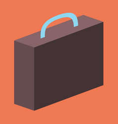 Flat icon on theme arabic business office suitcase vector