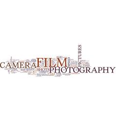 Landscape photographers text background word vector