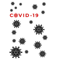 Pandemic coronavirus outbreak covid-19 2019-ncov vector