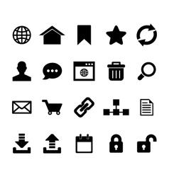 Internet Icon vector image vector image