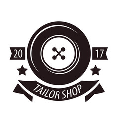 tailor shop or dressmaker atelier salon vector image vector image
