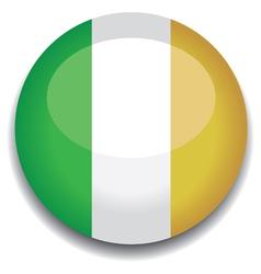 ireland flag vector image vector image