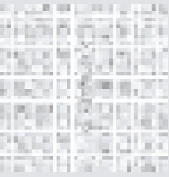 abstract gray background of squares vector image