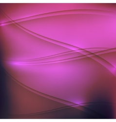 abstract purple background with waves vector image