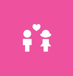 Couples Icon background vector image