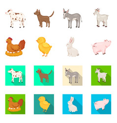design of breeding and kitchen logo vector image