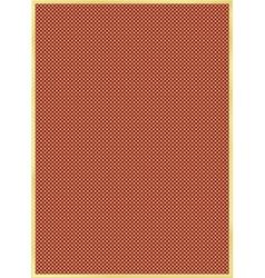 golden frame with grating vector image
