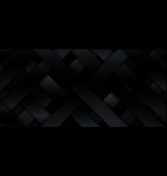 abstract 3d black gradient metallic diagonal vector image