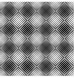 abstract seamless monochrome geometrical dot vector image
