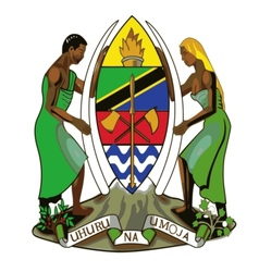 Coat of arms of Tanzania vector