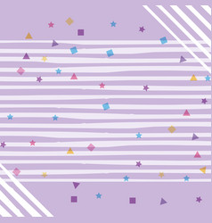 Cute background pattern vector