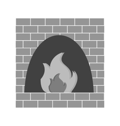 Fire Oven vector