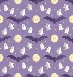 Halloween pattern8 vector image