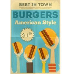 Hamburgers vector
