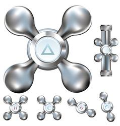 metal tab vector image