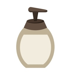 soap bottle product icon vector image