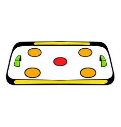 ice hockey rink icon icon cartoon vector image