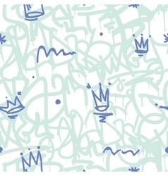 Graffiti Seamless Patten vector image