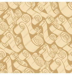 Vintage ribbons and scrolls vector image