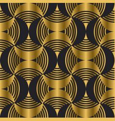 Art deco style modern seamless pattern vector