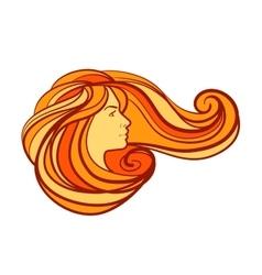 Beauty salon spa logo design template vector image