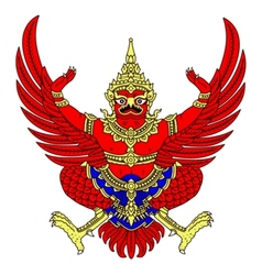 Coat of arms of thailand vector