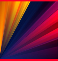 colorful geometric background with rays vector image