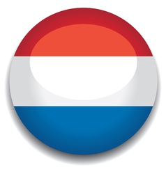holland flag vector image