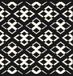 Ornament seamless pattern geometric texture vector