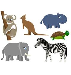 animal wild mammal vector image