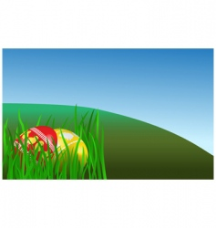 Easter morning vector image vector image