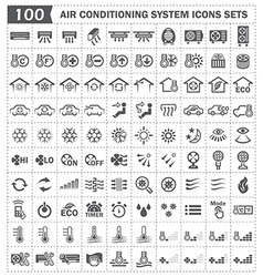Air condition icon vector