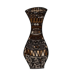 brown Vase vector image