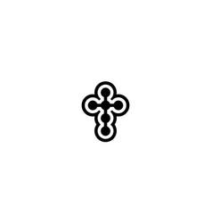 church logo design concept vector image