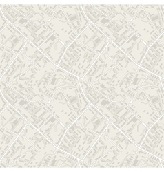 City map abstract seamless pattern background vector image