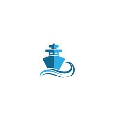 cruise ship symbol vector image