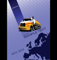 Europe brochure vector
