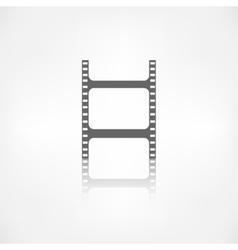 Film web icon Filmstrip symbol vector
