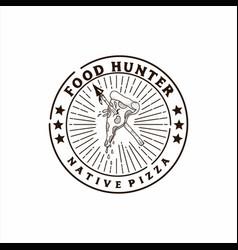 Food hunter vector