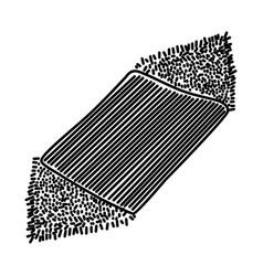 Microfiber super shammy icon doodle hand drawn vector
