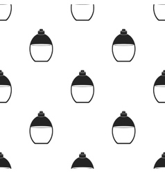 Perfume icon in black style isolated on white vector image
