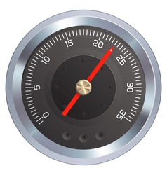 Pressure gauge vector