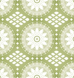 Russian lace pattern vector image