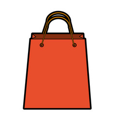shopping bag icon image vector image